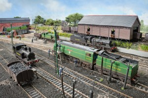 Looking Across the shed yard at Fisherton Sarum