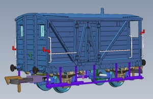 The CAD for this model is virtually complete