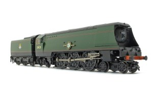 The other side of 35023 as out of the box, note the cranked connecting rod (image courtesy and copyright A York)