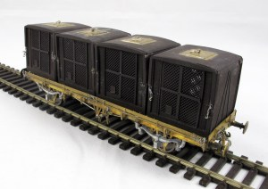 A higher view of the Marc Models CTO showing the lifting eye detail on each of the containers