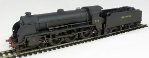 S15 number 845 with Maunsell flat sided tender