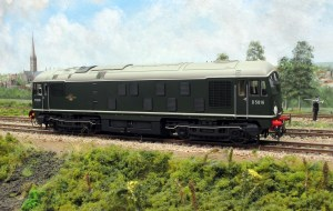 Class 24 as D5016 with 'Athermos' axle boxes n the condition that it worked on the Southern Region.