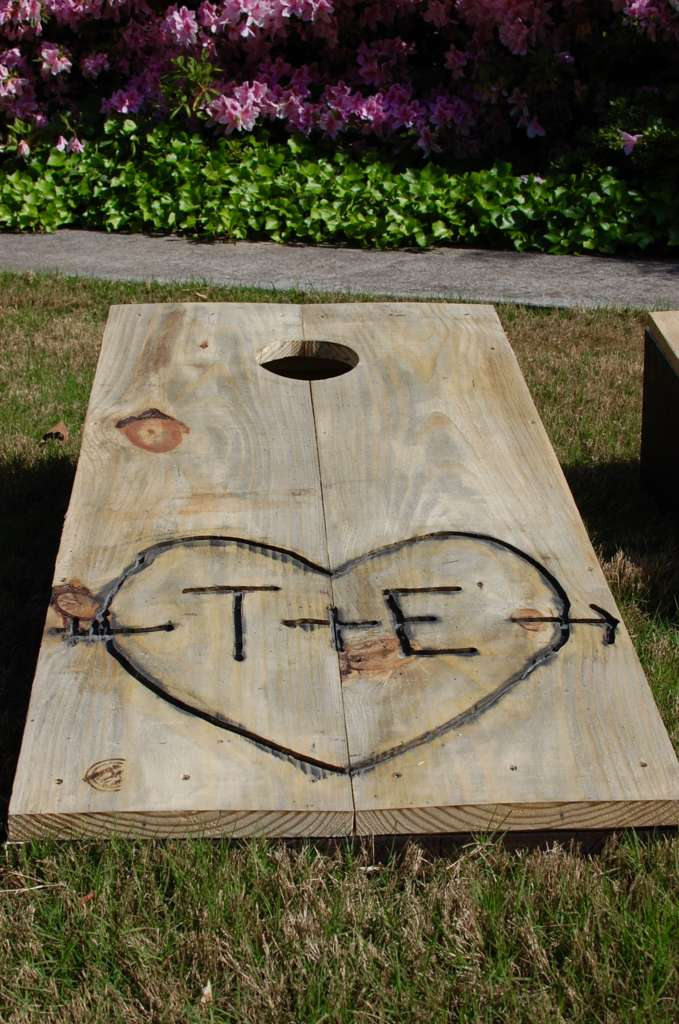 wooden kids kitchen cabinets direct custom corn hole boards & bean bag toss • southern sunshine
