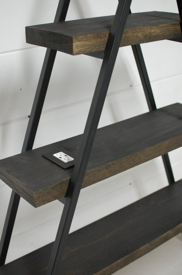 Frame Bookcase With Usb Charger Southern Sunshine