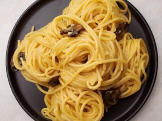 Mushroom Bacon, Egg, & Cheese Brunch Pasta Recipe