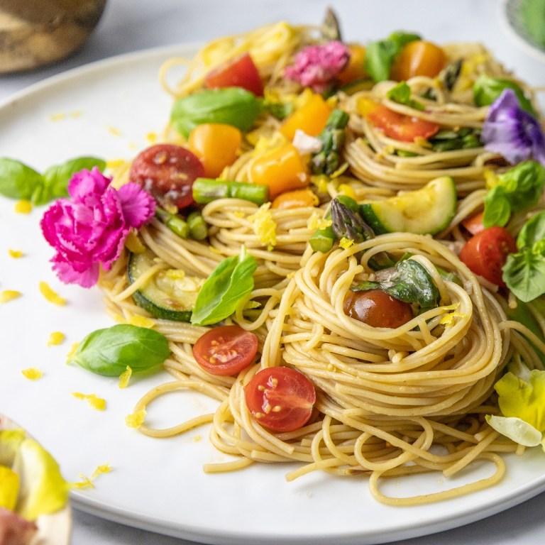 The BEST Pasta Primavera