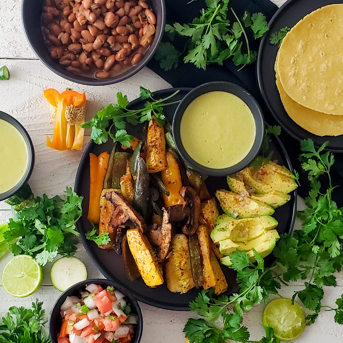 Veggie Fajitas Recipe Feature