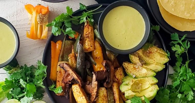 Veggie Fajitas Recipe (Sheet pan!)