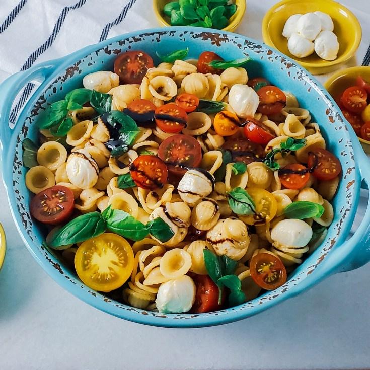 Caprese Pasta Recipe Side
