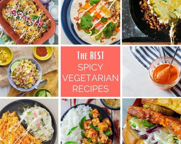 The BEST Spicy Vegetarian Recipes