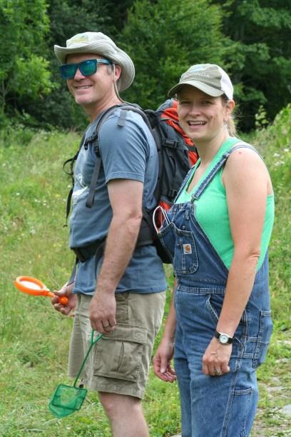 Drew Stevenson and Cheryl Fowler