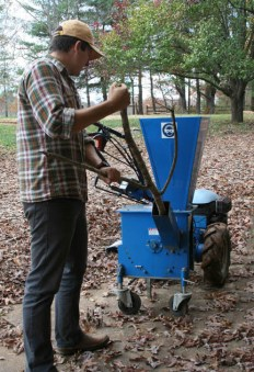Wood Chipper Attachment