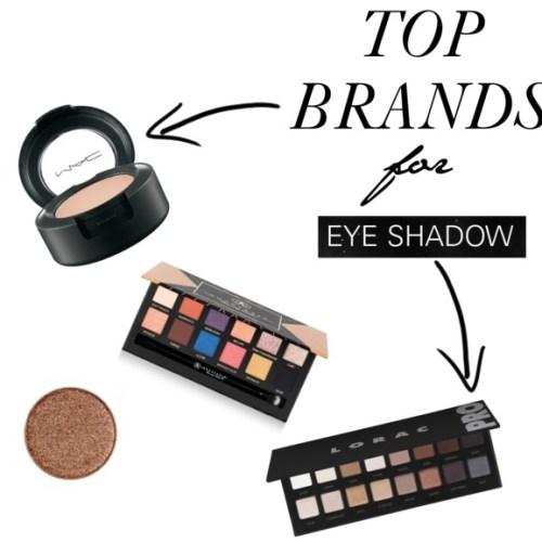 Top eye shadow brand picks
