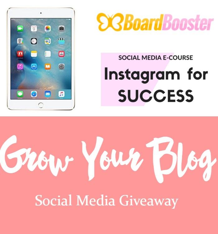 Grow Your Blog: Social Media Giveaway!