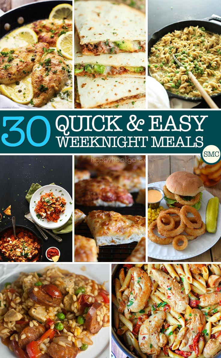 We're trying to cut back on takeouts and these 30 minute dinners should help us do that - why order out when it takes less time to cook a homemade meal??