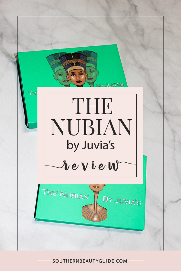 The Nubian Eye Shadow Palette Review + Swatches!