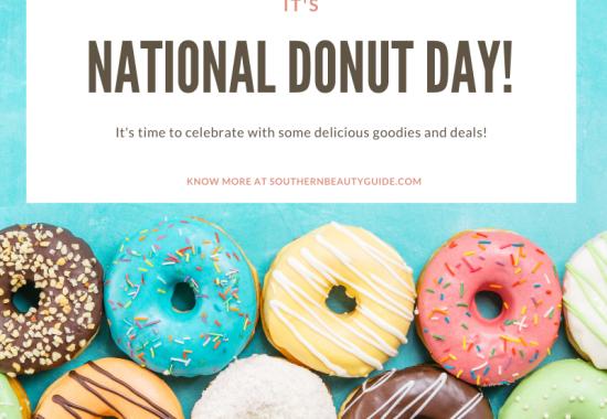 It's National Donut Day: Let's Celebrate!