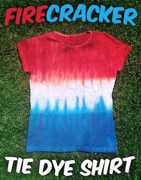 Firecracker Tie Dye T-Shirt