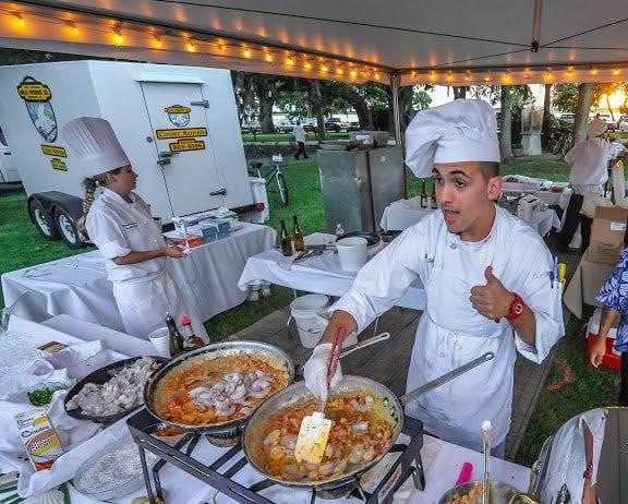 Shrimp  Grits The Wild Georgia Shrimp Festival and a