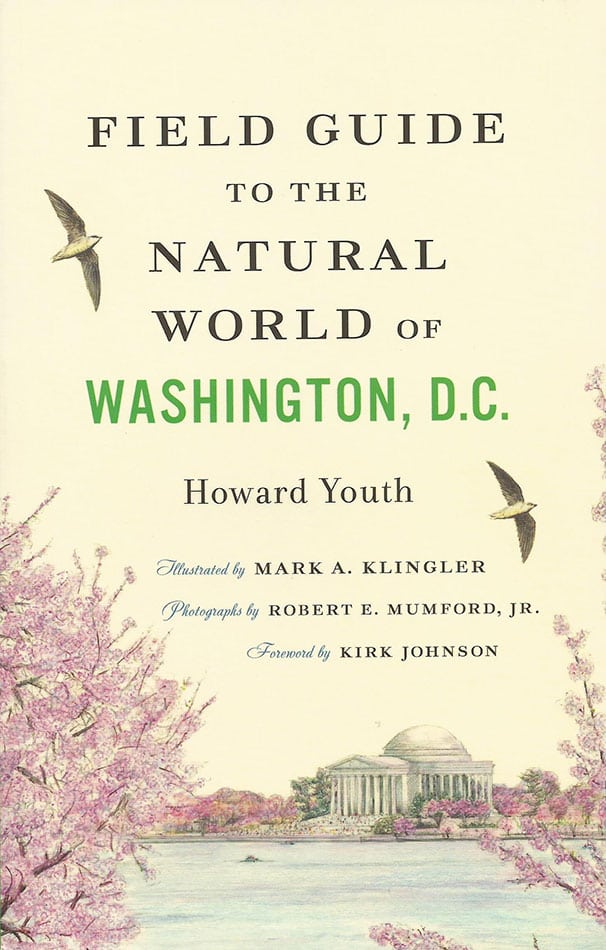 The Field Guide to the Natural World of Washington, D.C. by Howard Youth is not only informative and practical, but also full of beautiful wildlife art. Photo: Johns Hopkins University Press