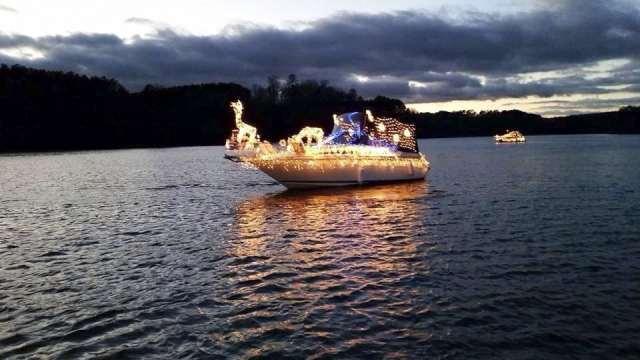 Boat Alabama Christmas parade. Photo courtesy of Kyle Kennedy
