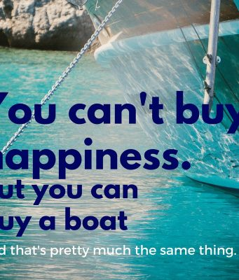 an image of best boat quotes