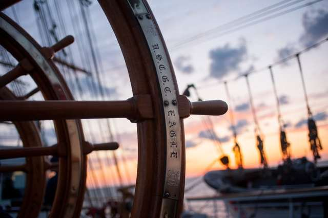 The origins of port and starboard