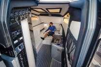 Natural light floods the 450's spacious interior with luxury amenities. Photo: JLambertPhotos.com