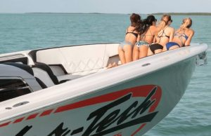 Nor-Tech South Florida Performance Boats at the Playa Largo Resort Swimsuit Shoot 2017