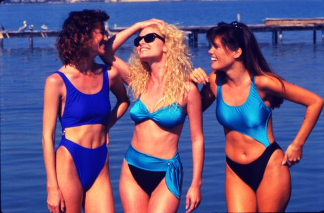 Swimsuit 1987 Swimsuit then and now