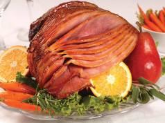 image of an orange glazed