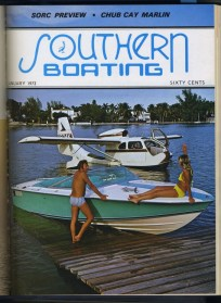 A new year brings...new seaplanes? This January 1973 cover is a lot of fun!