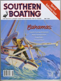 Unique art graces the cover of this May 1988 cover.