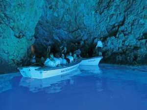 Bisovo Blue Cave, Cruising Croatia, charter in Croatia