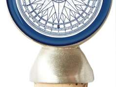 Compass Rose Wine Stopper, wine, drinks, wine stopper, compass rose wine stopper, wine corks, cork, best wine stopper for boaters