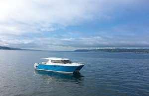 An image of the Arrowcat 420 Express Cruiser is the ultimate cruising catamaran.