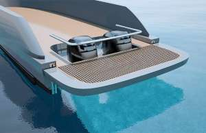 Opacmare adjustable swim platform