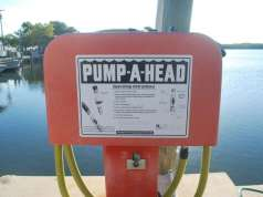An image of a Pump Out Station. Discharge from your boat, Navigating Discharge Onboard