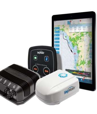 An image of a Mazu iPad New products help stay connected while cruising Keeping cruisers connected