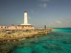 An image of the Crooked Island Lighthouse
