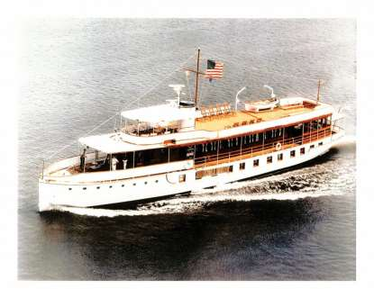 m/y Sequoia presidents on yachts