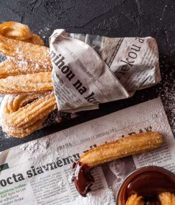 an image of easy Mexican churros