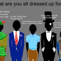 What are you all Dressed up for? Part I