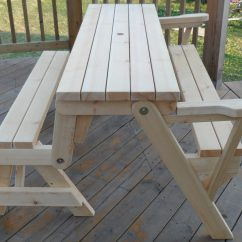 Folding Chair Picnic Table Gym Total Body Workout Manual To Bench Instructions Click On The