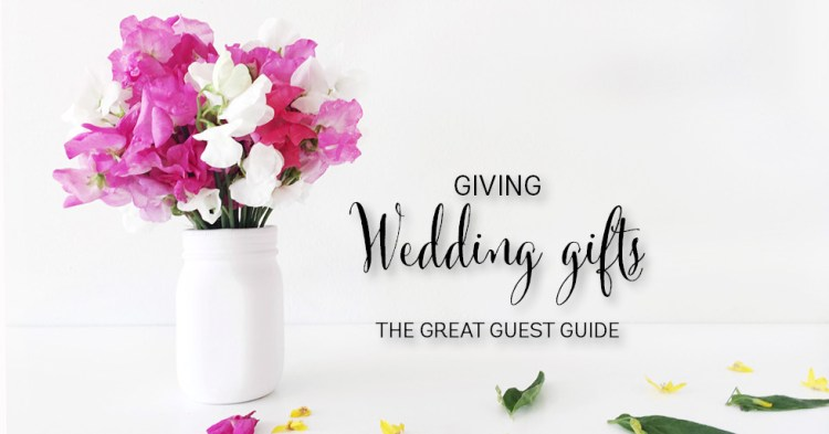 wedding gift ideas