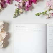 C-sm - little white book wedding organiser diary