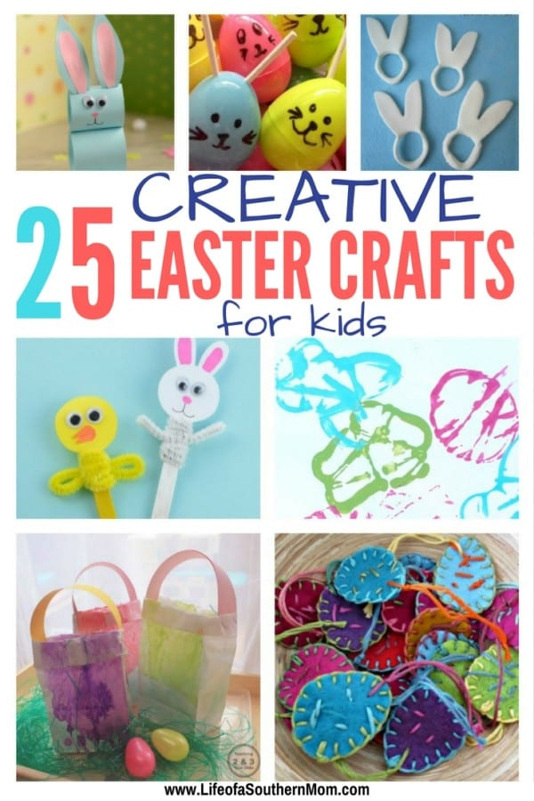 25 Creative Easter Crafts For Kids Southern Carolina Family