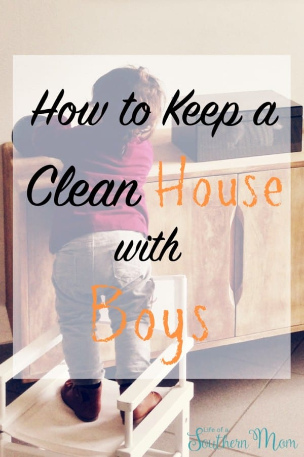 How to Keep a Clean House with Boys