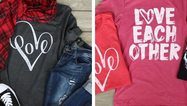 Love Tees – Was $27.99 – Ships for $17.98!