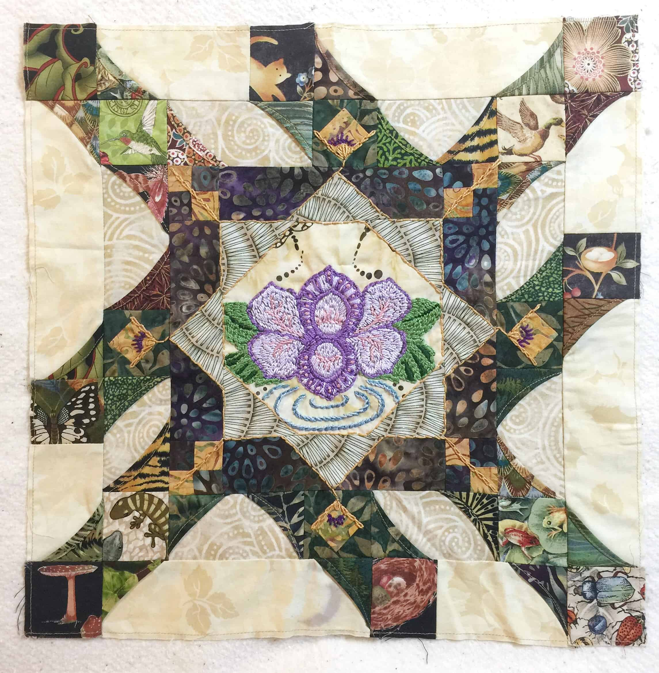 Wandering Quilt Tree Of Life Susans
